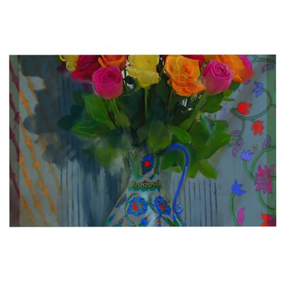 S. Seema Z Spring Bouquet Flowers Doormat