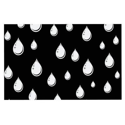 Suzanne Carter Raindrops Doormat