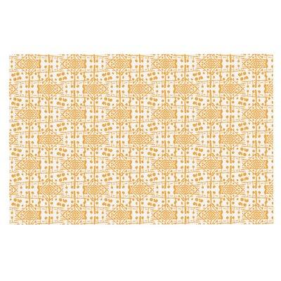 Apple Kaur Diamonds Squares Doormat