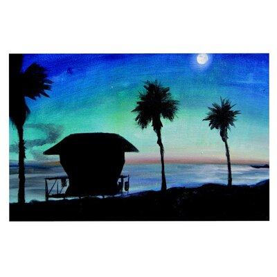 Theresa Giolzetti Carlsbad State Beach Doormat