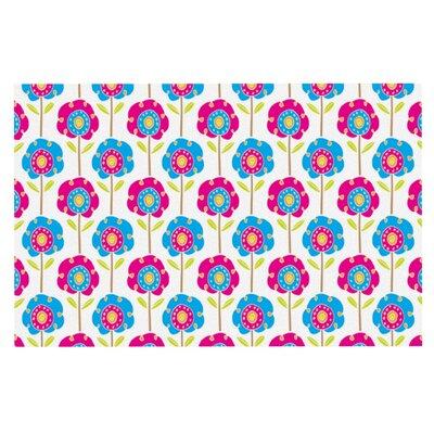 Apple Kaur Lolly Flowers Doormat