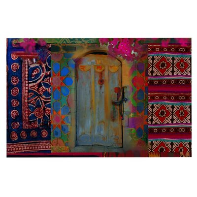 S. Seema Z Ethnic Escape Ped Doormat
