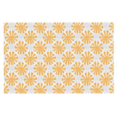 Apple Kaur Sunburst Doormat