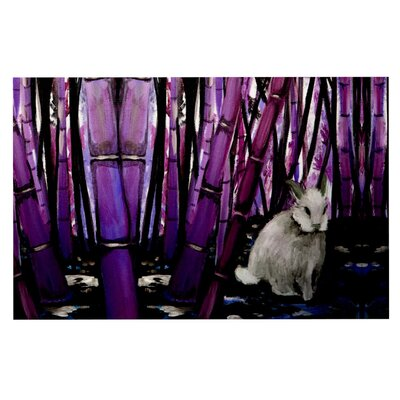 Theresa Giolzetti Bamboo Bunny Doormat