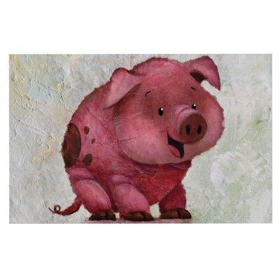 Rachel Kokko This Little Piggy Doormat