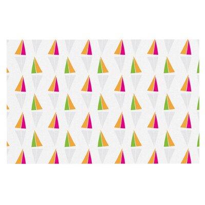 Apple Kaur Triangles Doormat