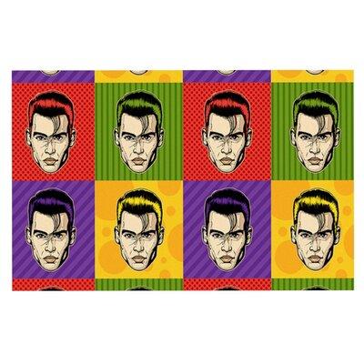 Roberlan Johnny Depop Pop Art Doormat
