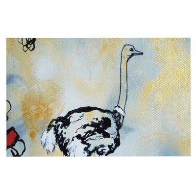 Sonal Nathwani Ostrich Doormat