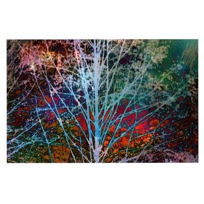 Sylvia Cook 'Trees in the Night' Doormat