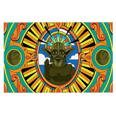 Roberlan Darth Yoda Star Wars Doormat