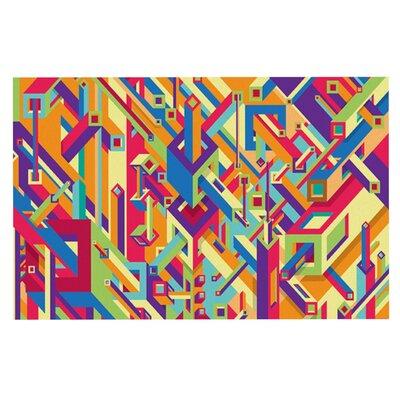 Roberlan Buracos Abstract Doormat