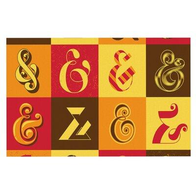 Roberlan Ampersands Typography Doormat