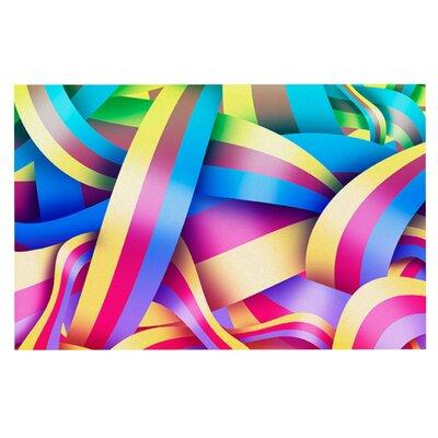 Roberlan Medal Rainbow Lines Doormat