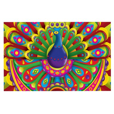 Roberlan Peacolor Rainbow Peacock Doormat