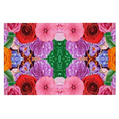 Vasare Nar Kaleidoscopic Flowers Doormat