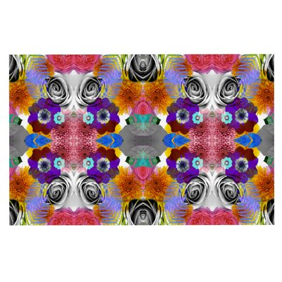 Vasare Nar Tropical Flowers Doormat