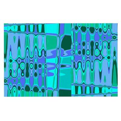 Vikki Salmela Changing Gears Doormat Color: Blue