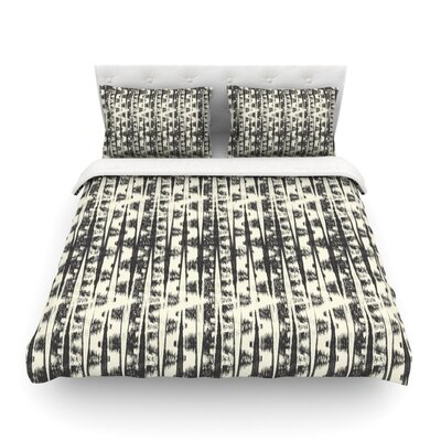 Amanda Lane Abstract Abstract Featherweight Duvet Cover Size: Twin