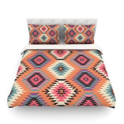 Navajo Dreams by Amanda Lane Featherweight Duvet Cover Size: King/California King, Fabric: Cotton