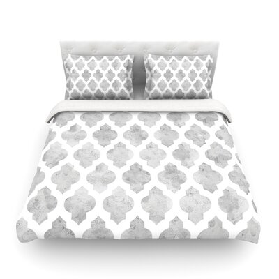 Moroccan by Amanda Lane Featherweight Duvet Cover Size: Twin