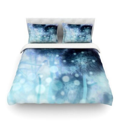 Day Dreamer by Alison Coxon Featherweight Duvet Cover Size: Queen, Fabric: Lightweight Polyester