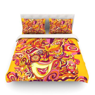 Utopia Light by Alisa Drukman Featherweight Duvet Cover Size: Queen, Fabric: Lightweight Polyester