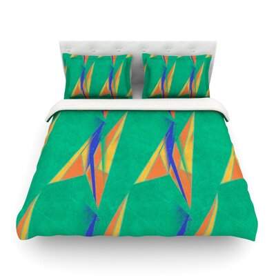 Deco Art by Alison Coxon Featherweight Duvet Cover Size: Twin, Fabric: Woven Polyester