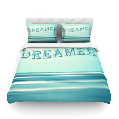 Dreamer by Ann Barnes Featherweight Duvet Cover Size: King/California King, Fabric: Cotton