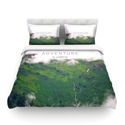 Adventure is Waiting by Ann Barnes Featherweight Duvet Cover Size: King/California King, Fabric: Lightweight Polyester