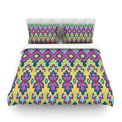 Boho Chic by Amanda Lane Featherweight Duvet Cover Size: Queen, Fabric: Lightweight Polyester