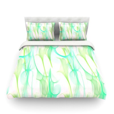 Swim II by Alison Coxon Featherweight Duvet Cover Size: Full/Queen, Fabric: Woven Polyester