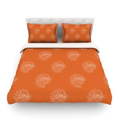 Simpley Protea by Anneline Sophia Featherweight Duvet Cover Size: King/California King