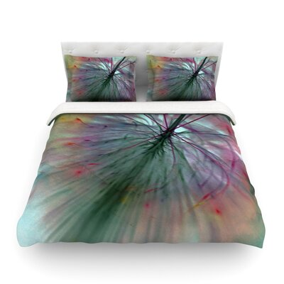 Fleur by Alison Coxon Featherweight Duvet Cover Size: King/California King, Fabric: Lightweight Polyester