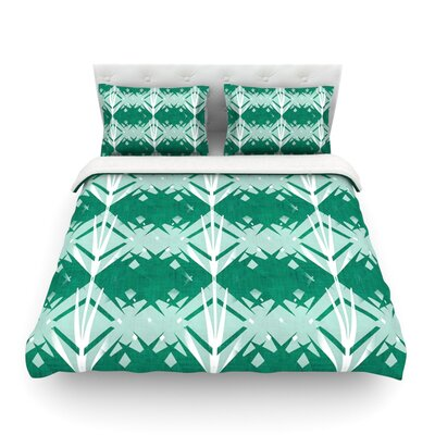 Diamond by Alison Coxon Featherweight Duvet Cover Size: Queen, Fabric: Cotton