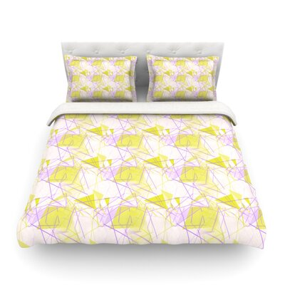 Light by Alison Coxon Featherweight Duvet Cover Size: Queen