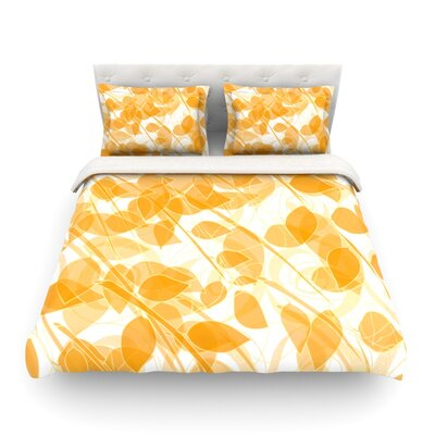 Summer by Anchobee Featherweight Duvet Cover Size: Twin