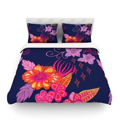 Tropical Paradise by Anneline Sophia Featherweight Duvet Cover Size: Twin, Fabric: Lightweight Polyester
