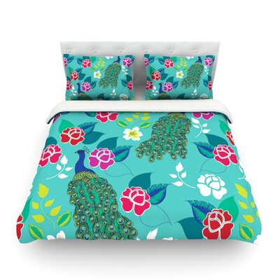 Aztec Boho by Anneline Sophia Featherweight Duvet Cover Size: King/California King