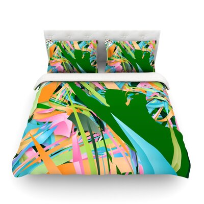 Soccer Defense by Danny Ivan Featherweight Duvet Cover Size: King/California King, Fabric: Lightweight Polyester