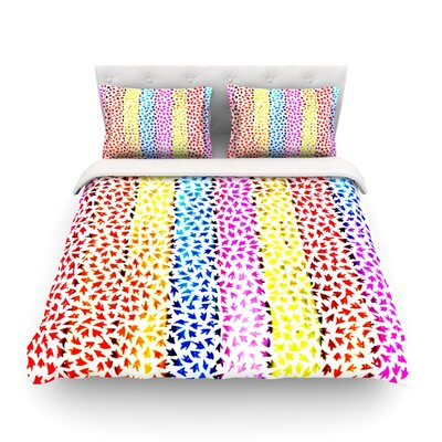 Rainbow Arrows by Sreetama Ray Featherweight Duvet Cover SR1028ACD01