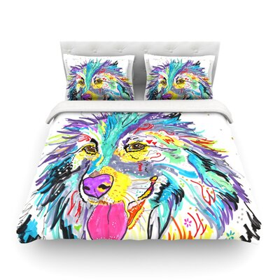 Dally by Rebecca Fischer Featherweight Duvet Cover Size: King/California King, Fabric: Cotton