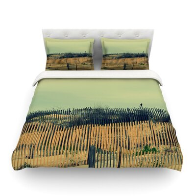 Carova Dunes by Robin Dickinson Woven Duvet Cover Size: Queen