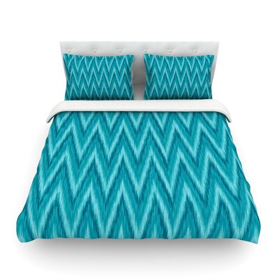 Island by Amanda Lane Featherweight Duvet Cover Size: Twin, Fabric: Cotton