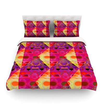 Allicamohot by Nina May Woven Duvet Cover Size: Twin