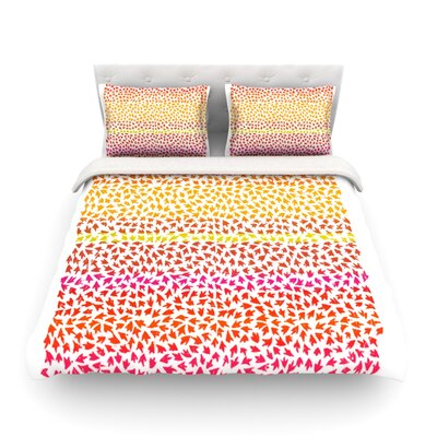 Sunset Arrows by Sreetama Ray Abstract Featherweight Duvet Cover SR1020ACD01