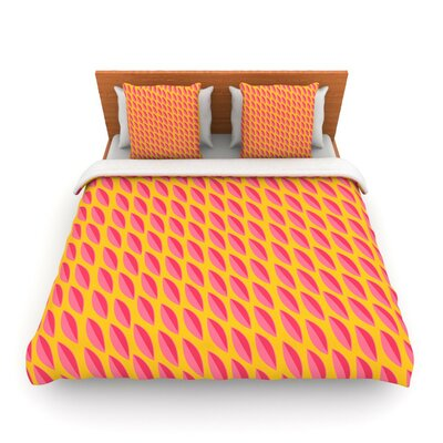 Seed Pods by Michelle Drew Woven Duvet Cover Size: Twin