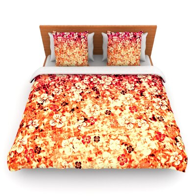 Flower Power Duvet Cover Size: Queen, Fabric: Woven Polyester