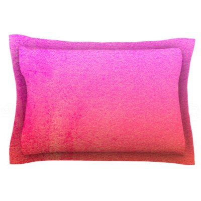 Fruit Punch by Monika Strigel Featherweight Pillow Sham Size: Queen, Fabric: Cotton