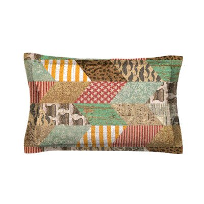 The Royal Court by Heidi Jennings Woven Pillow Sham Size: Queen