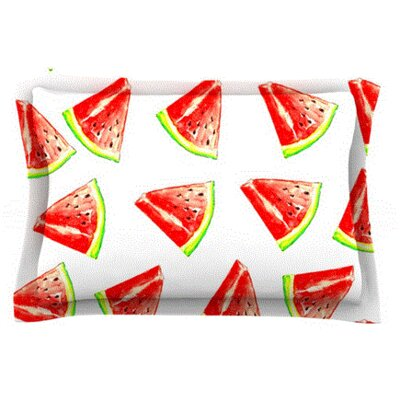 Summer Fun by Sreetama Ray Featherweight Pillow Sham Size: Queen, Fabric: Cotton